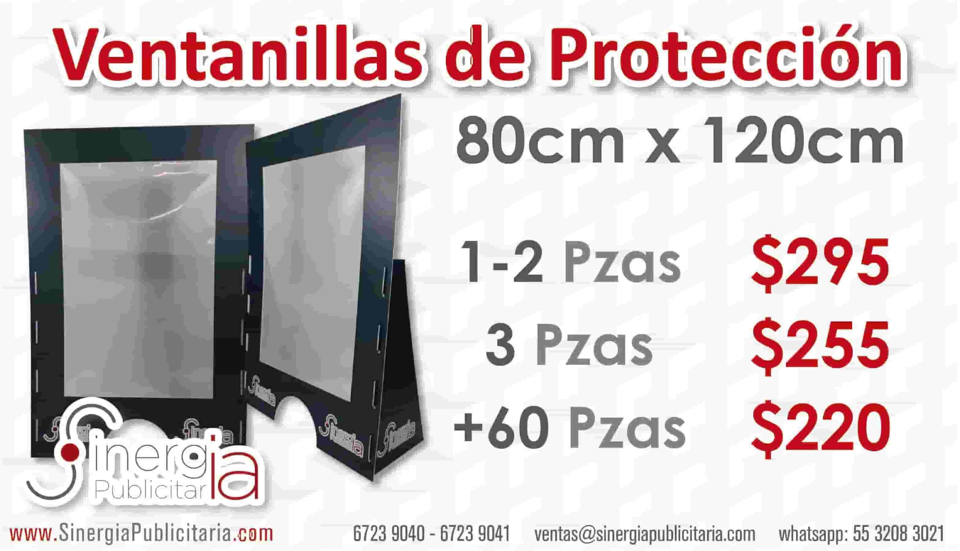 mampara protección